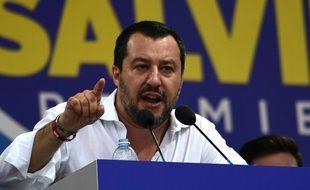 Matteo Salvini est le leader de l'extrême droite italienne et le ministre de l'Intérieur depuis juin 2018.