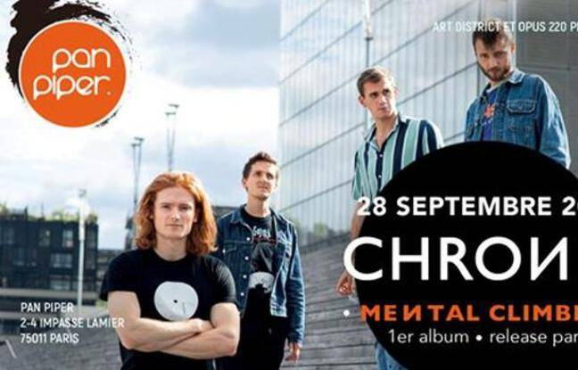Le groupe Chrones présente son nouvel album,