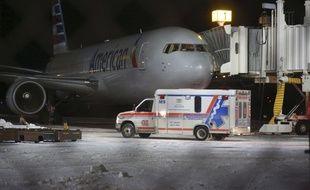 Sept personnes ont été transportées à l'hôpital après leur atterrissage à l'aéroport de Saint-Jean de Terre Neuve, le 24 janvier 2016. L'avion a été pris dans de fortes turbulences.