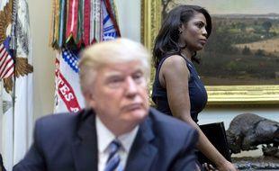 L'ex-conseillère de Donald Trump, Omarosa Manigault-Newman, le 13 mars 2017 à la Maison Blanche.