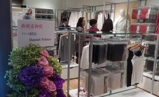 La boutique Damart du centre de Tokyo