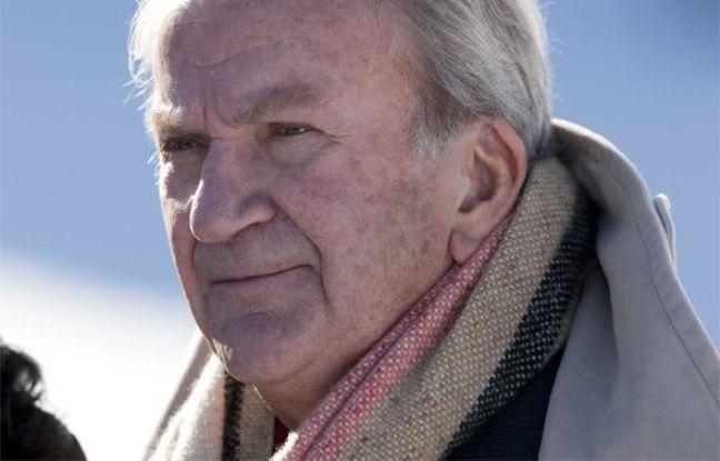 L'acteur français Pierre Mondy, lors du 16e festival de Gerardmer, en France, le 29 janvier 2009.
