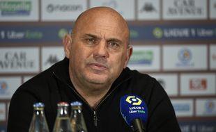 L'entraîneur du PSG, Frédéric Antonetti, préférait le PSG du milieu des années 1990.