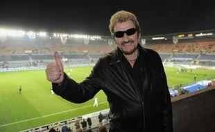 """Johnny Harlay, un supporters de Strasbourg, veut faire de sa chanson """"Bleu, c'est bleu"""", l'hymne du Racing."""