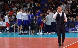 Yoan Crouzillat, speaker toulousain, intervient notamment lors des matchs de l'équipe de France de volley.