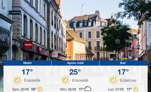Météo Mulhouse: Prévisions du vendredi 24 septembre 2021