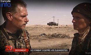 Un documentaire de France 2 montre des volontaires français et étrangers qui se battent contre Daesh.