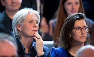 Pénélope Fillon lors de L'émission politique à laquelle a participé son mari sur France 2.