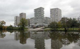 Le quartier de Baud-Chardonnet, à Rennes, accueille d'importants programmes immobiliers.
