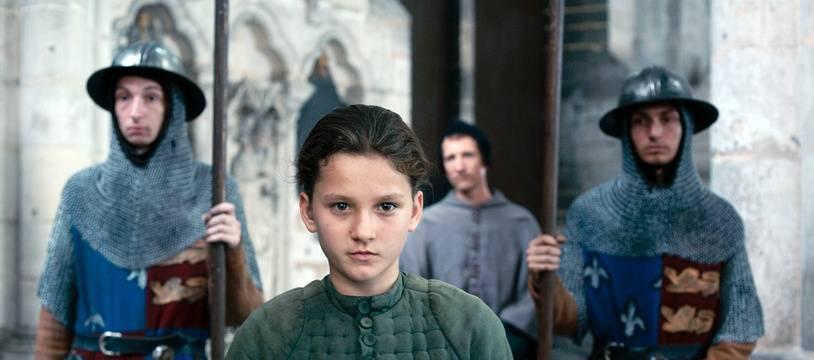 La jeune Lise Leplat Prudhomme interprète Jeanne d'Arc.