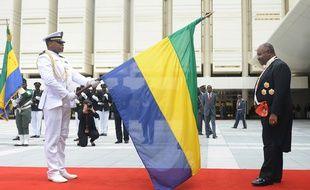 Ali Bongo, le 27 septembre 2016 à Libreville, avant son AVC.
