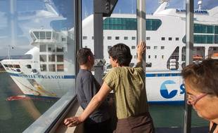 Le Danielle Casanova ,  navire de la SNCM