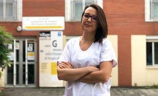 Audrey est infirmière au CHU Pontchaillou, à Rennes. Elle a intégré une unité de dépistage du coronavirus.