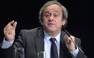 Michel Platini le 29 mai 2015.