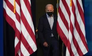 Illustration: Le président américain, Joe Biden, à Washington, le 28décembre 2021.