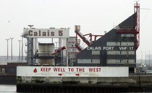 Le port de Calais.