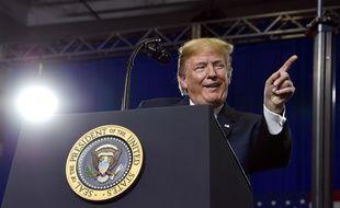 Donald Trump le 25 juin 2018.