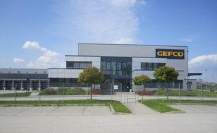 Un entrepôt Gefco près de Berlin, en Allemagne (illustration).