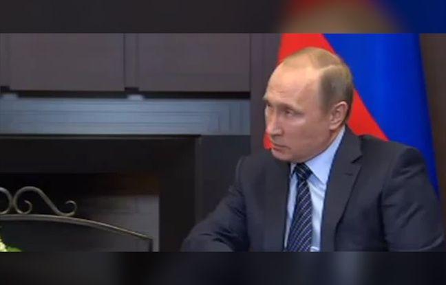 Vladimir Poutine a commenté le crash d'un avion russe par l'aviation turque