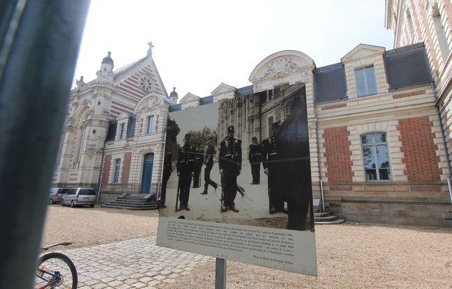 Le lycée Zola à Rennes où se tient une exposition, 120 ans après la révision du procès Dreyfus.