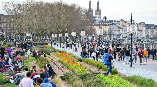 Trop de promeneurs, les quais de Bordeaux deviennent « dynamiques »