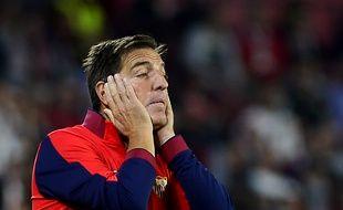 Eduardo Berizzo, le 29 octobre 2017, quand il était encore entraîneur de Séville.