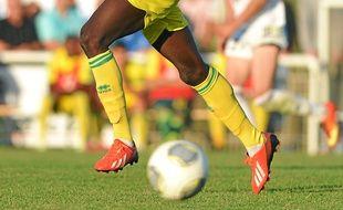 Abdoulaye Touré, cet été, lors d'un match de préparation contre Vannes.