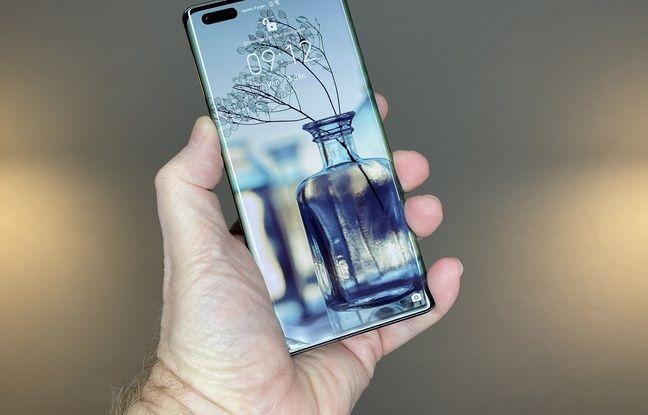 Huawei's Mate 40 Pro lancé à 1199 euros.