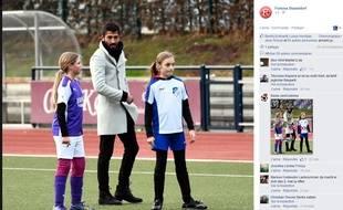 Capture d'écran de la page Facebook du Fortuna Dusseldorf, le 5 décembre 2015.