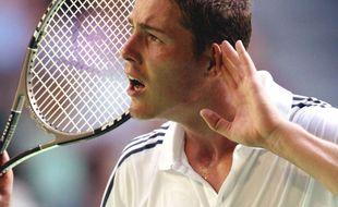 Marat Safin lors de l'Open d'Australie 2002.