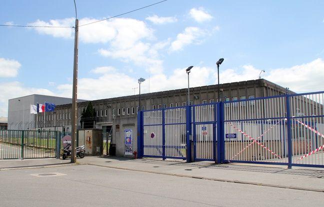L'entrée de l'imprimerie Oberthur Fiduciaire à Rennes, l'une des plus importantes imprimeries de billets de banque en Europe.