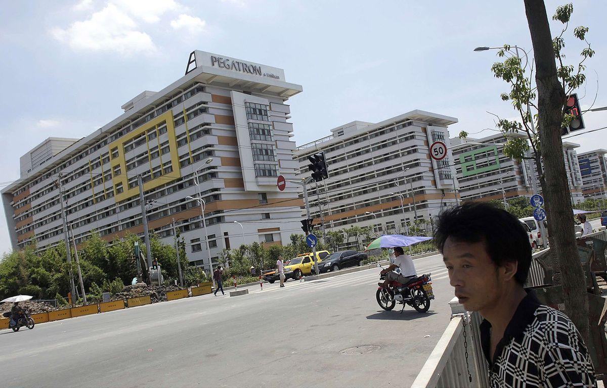 Une usine du groupe Pegatron, à Shanghai, le 30 juillet 2013. – Eugene Hoshiko/AP/SIPA