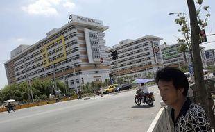 Une usine du groupe Pegatron, à Shanghai, le 30 juillet 2013.