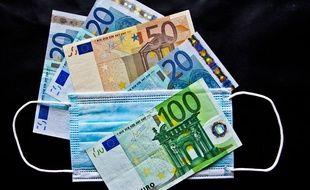 Des billets en euro (illustration).