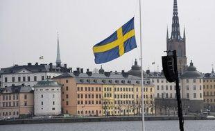 La Suède observe une minute de silence pour les victimes de l'attentat.