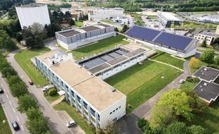 Le visage de la nouvelle usine de production d'eau potable après les travaux.