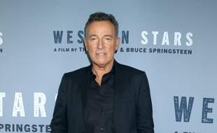Le chanteur Bruce Springsteen