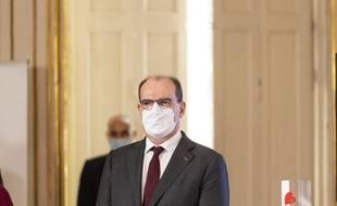 Le Premier ministre Jean Castex à Matignon (Illustration)