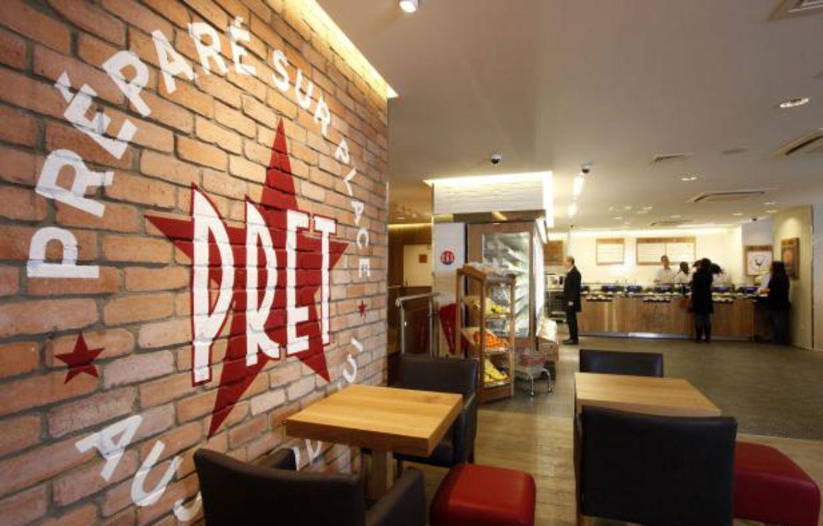 Un restaurant Pret à Manger – DR