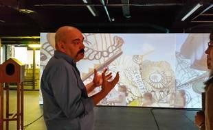 Strasbourg, le 21 octobre 2015: Exposition Alsaxy au Shadok