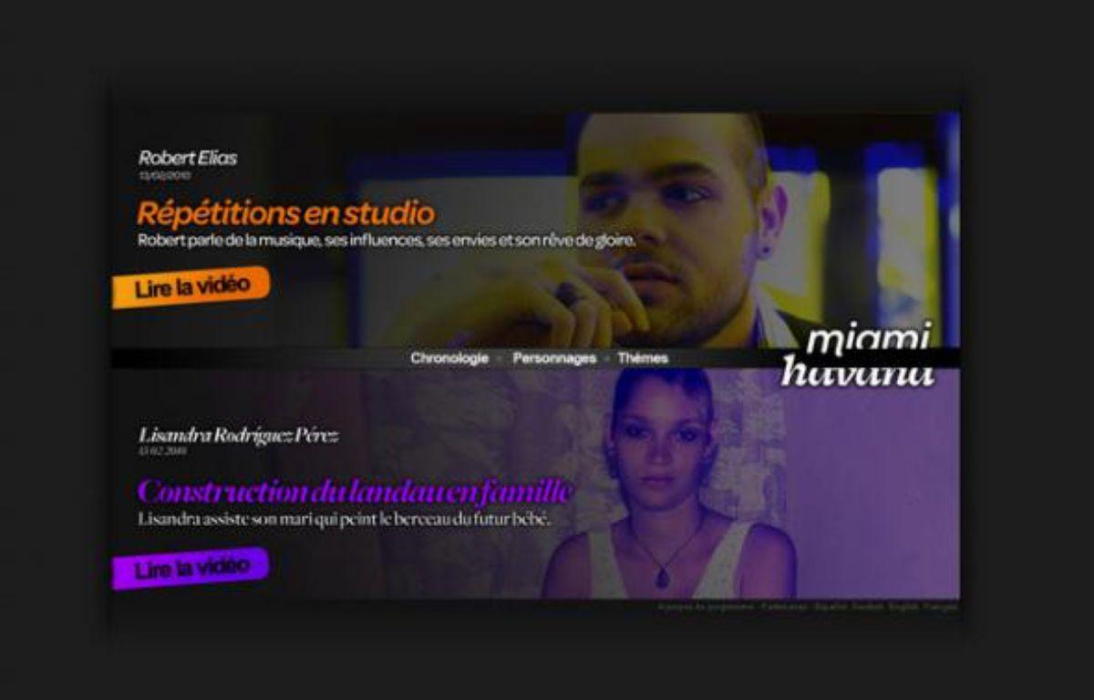 Le web-documentaire Havana-Miami. – Arte
