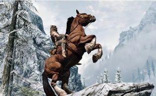 En 2012, vos consoles verront l'univers fantasy de «Skyrim» (en haut) et la loufoquerie de «Raymans Origins» (en bas).