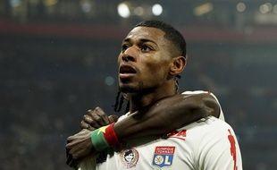 Jeff Reine-Adélaïde a inscrit son premier but sous le maillot lyonnais, samedi face à Nice (2-1), avant d'être remplacé dès la 38e minute de jeu.