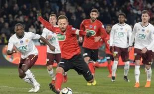 Sébastien Flochon et les Herbiers vont tenter d'entrer dans l'histoire du foot vendéen et national, ce mardi soir.