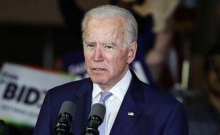 Le candidat démocrate Joe Biden le 6 mars 2020 à Los Angeles.