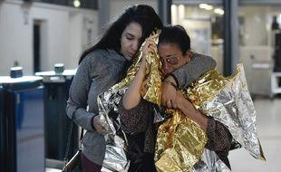 Un vol militaire avec 278 rescapés des ouragans Irma et José à Saint-Martin et Saint-Barthélemy a atterri lundi après-midi à Roissy.