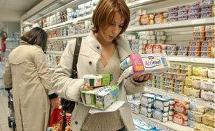 Danone a renoncé à obtenir la labellisation santé de ses produits Actimel et Activia.