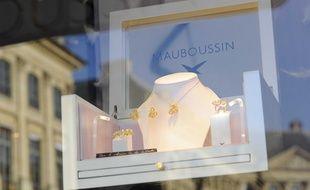 La boutique Mauboussin à Paris en 2012.
