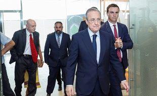 Florentino Perez, le président du Real Madrid, est le premier responsable de «l'Association mondiale des clubs».