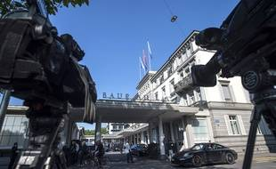 L'interpellation a eu lieu dans un hôtel de Zurich le 27 mai.